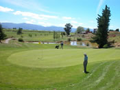 Marlborough Golf Club at Fairhall - one minute away